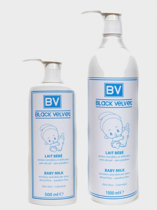 latte per bebe linea black velvet