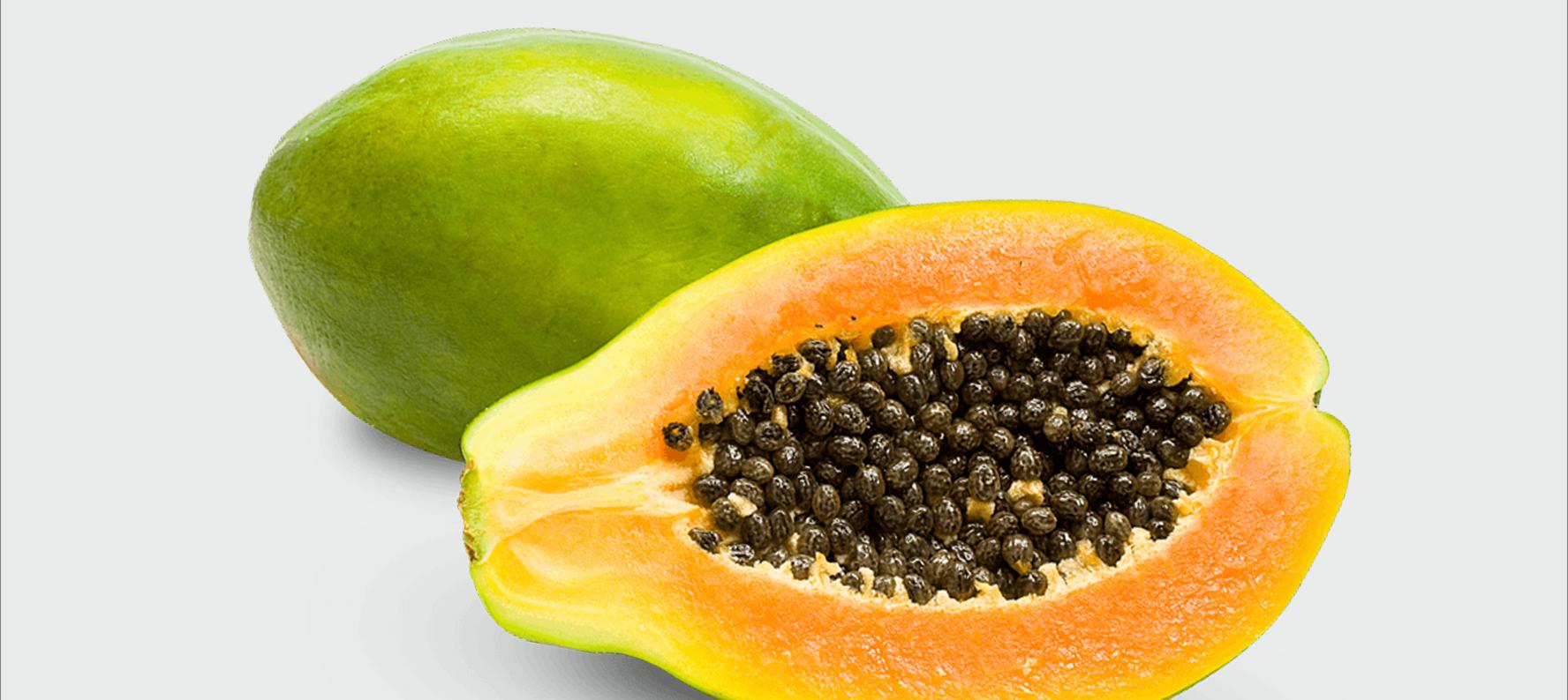 benefici papaya sulla pelle